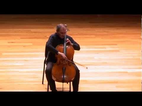 Asier Polo; Suite para violoncello solo; G. Cassadó; Cellocyl 2012: