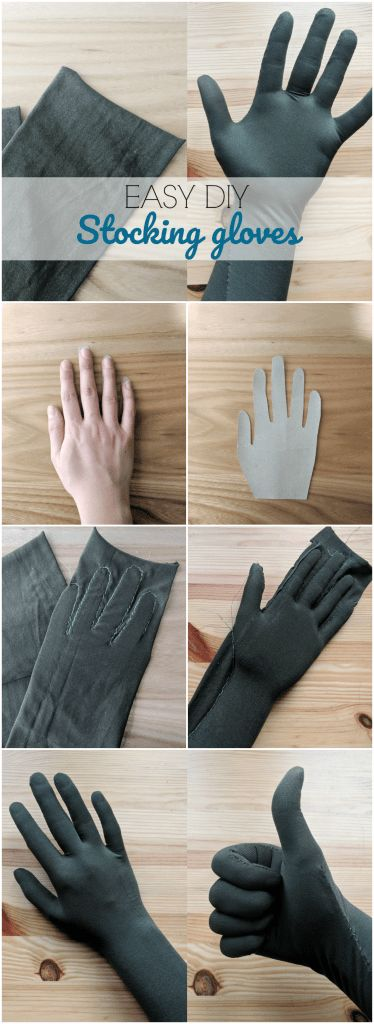 Easy DIY, Stocking gloves tutorial for cosplay rem…