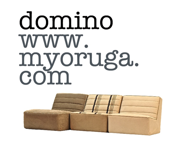 Domino...awesome sofa from Barcelona