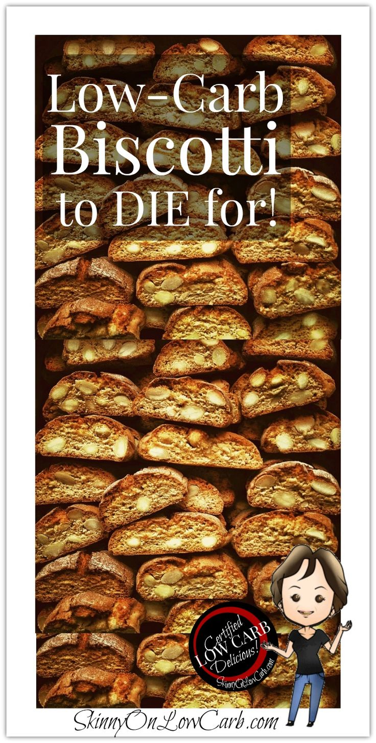 Low Carb Biscotti You will LOVE