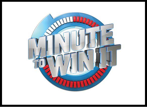 Minute to win it. Spelshow waarbij de deelnemers steeds binnen één minuut een uitdaging moeten behalen.Behaal je een opdracht dan mag je door naar de volgende ronde