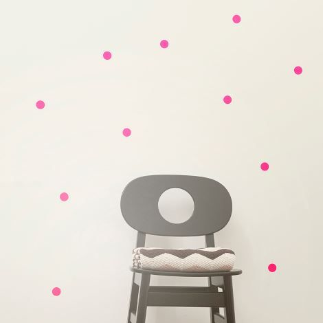 Stickers Dots rose Ferm Living