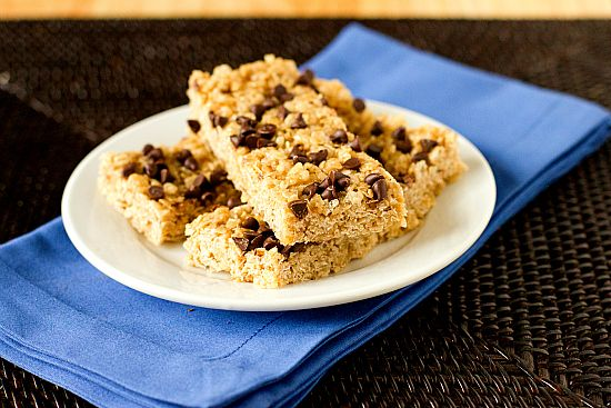 After buying some truely terrible store-bought granola bars I'm considering making my own. These look like a good place to start.