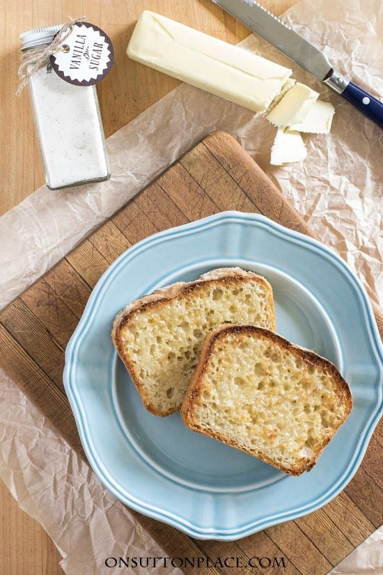 Easy English Muffin Bread Recipe | This no knead, homemade bread will become a family favorite. Just toast and serve for breakfast or snacks.