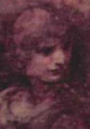 <동방박사의 경배> 속 레오나르도 다빈치