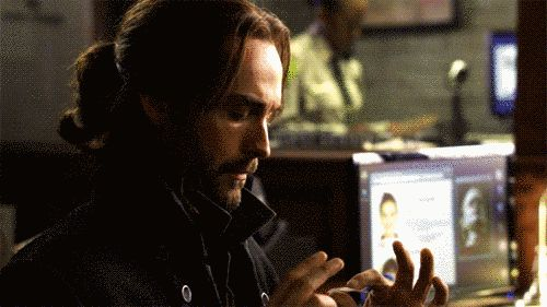 "Tape, in general. | 19 Times Ichabod Crane Was Adorably Clueless On ""Sleepy Hollow"""