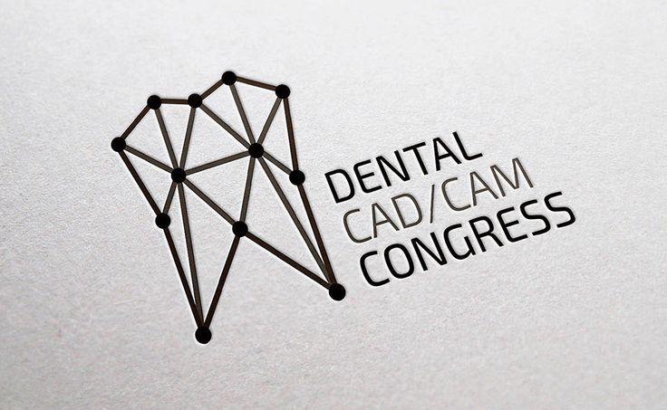 Dental CAD/CAM Congress logo by Vladislav Mikhailov #logo  #brand #identity #design