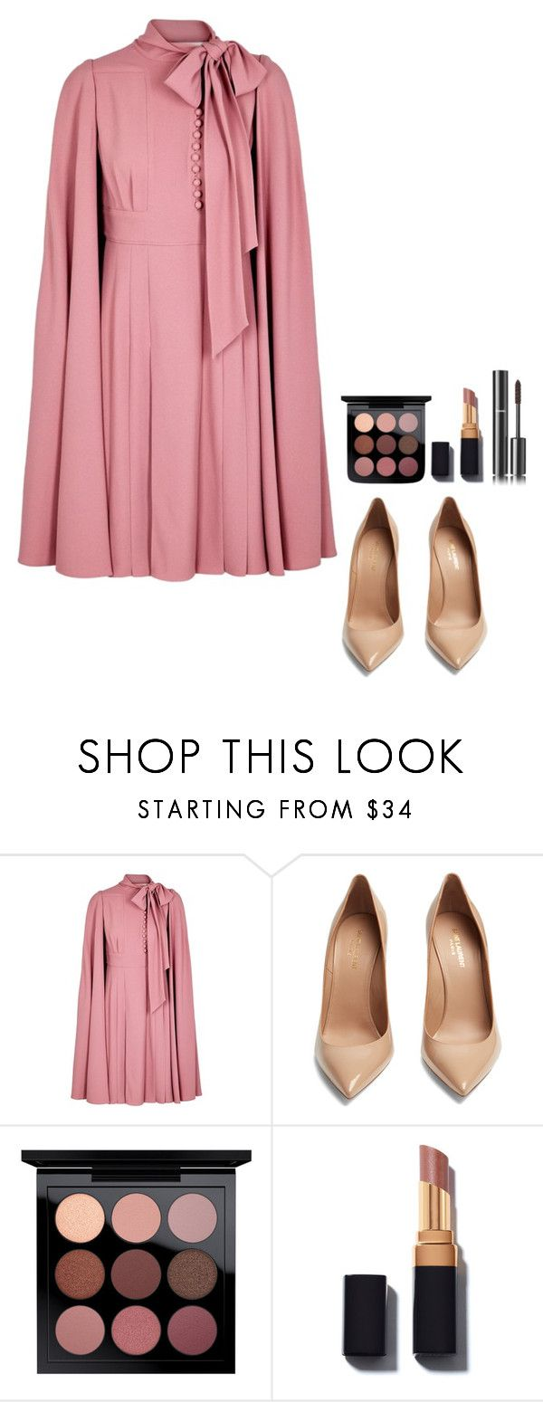 """I'm your"" by arianabut1993 on Polyvore featuring moda, Valentino, Yves Saint Laurent y Chanel"