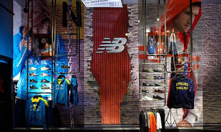 New Balance store by KNOCK, New York