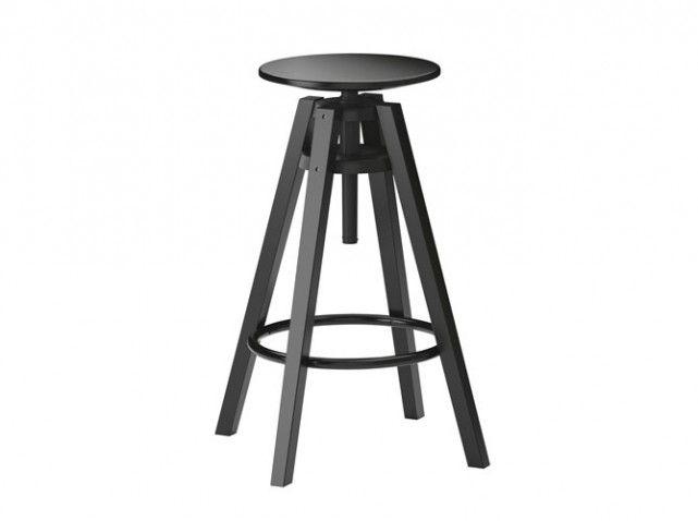 Les 25 meilleures id es concernant adjustable stool sur - Ikea tabouret de bar en bois ...