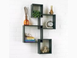tag re cube murale d co int rieure pinterest etagere cube murale murale et tablette. Black Bedroom Furniture Sets. Home Design Ideas