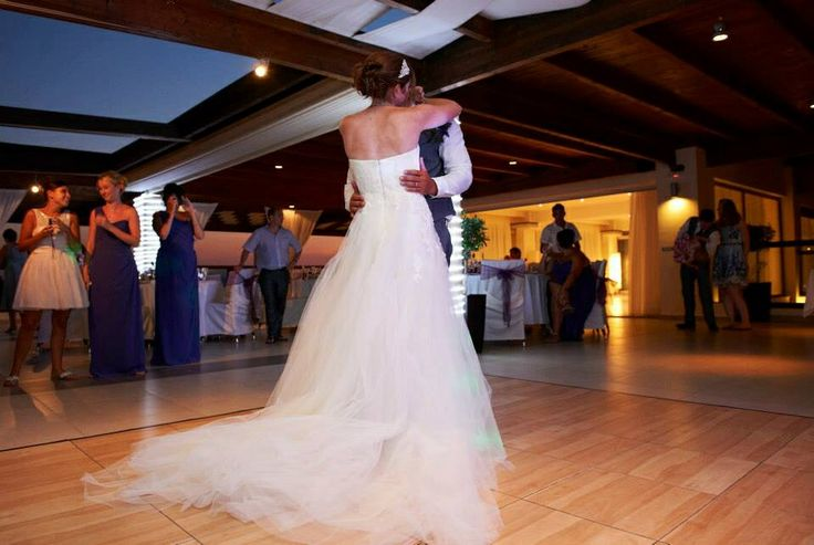 The first dance @ Elia restaurant Pefkos. Image by gallery photography Rhodes