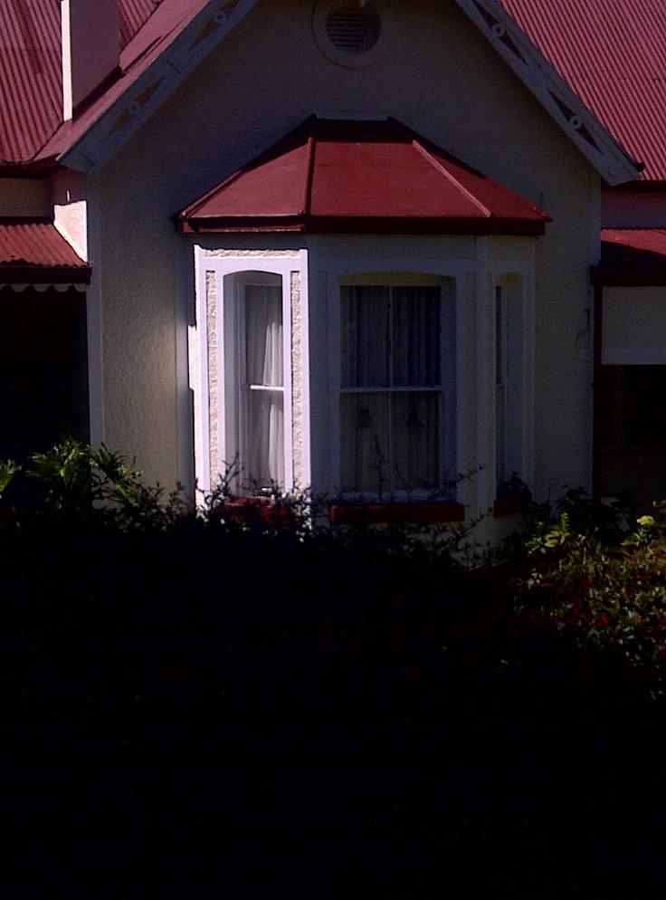 Pilgrim's Rest, bay window