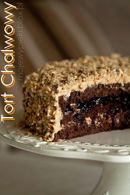 Cake chałwowy