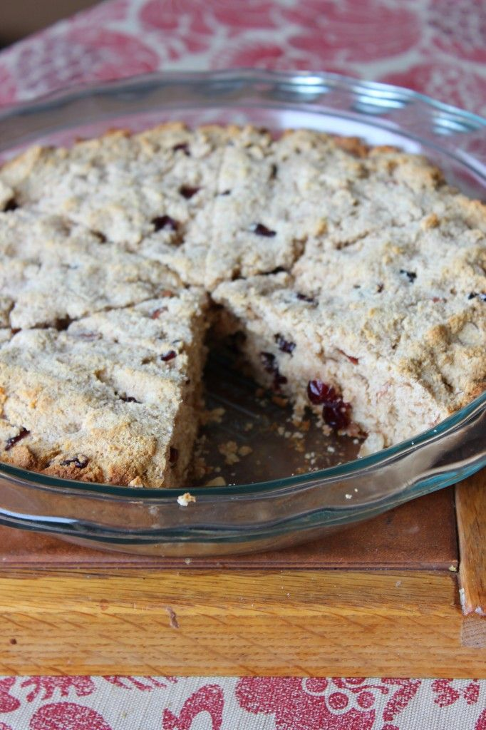 Whole Wheat Cranberry Almond Scones | The Best of Simply Playful Fare ...