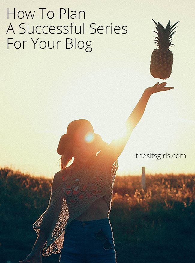 Blogging Tips | Bring readers in and keep them coming back for more by offering a post series on your blog. Click through for great tips to help you find a writing topic and plan ahead for success.