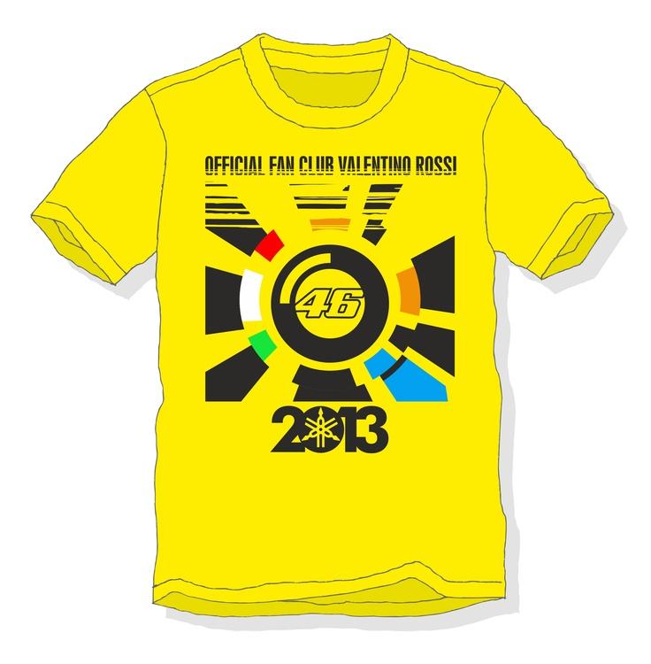 Grafica su T-shirt per contest Fan Club Valentino Rossi