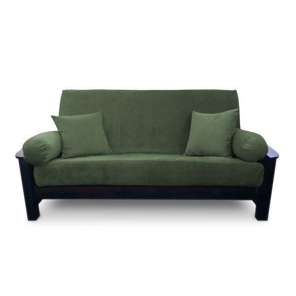 Simoes Solid Box Cushion Futon