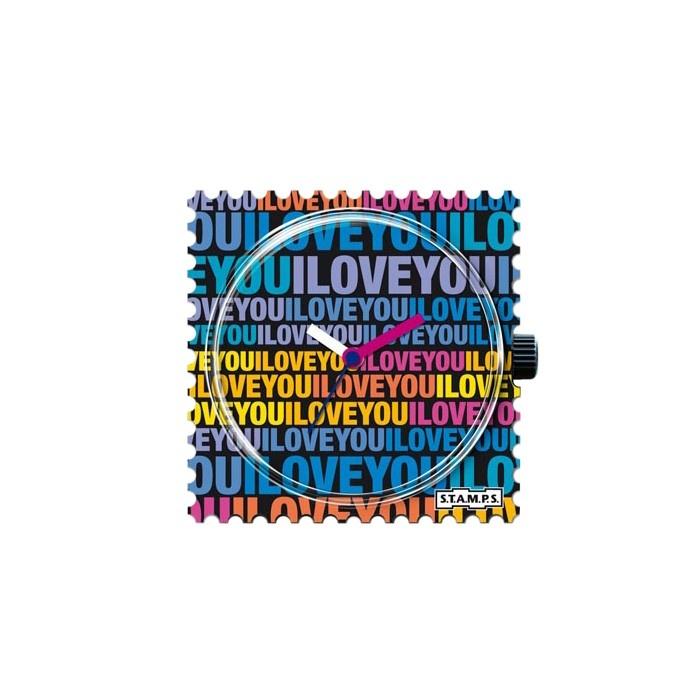 Relógio S.T.A.M.P.S. Love Message R$89.00