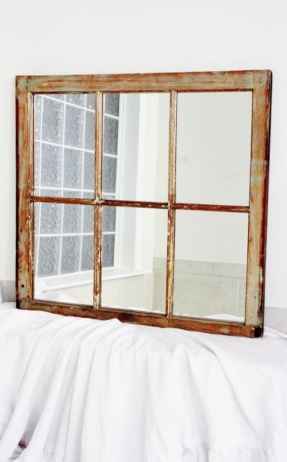 Window pane mirror. My next project.Antique Windows, Mirrors Windows Panes, New Orleans, Antiques Windows, Windows Mirrors, Old Windows, Orleans Salvaged, Salvaged Windows, Apartments