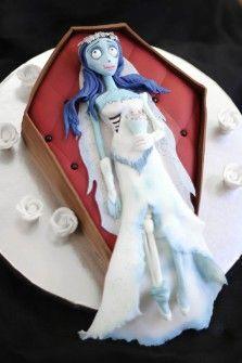 Tartas de Boda para Freaks - La novia cadáver