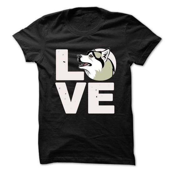 Awesome Siberian Husky Lovers Tee Shirts Gift for you or your family your friend:  Love Siberian Husky Tee Shirts T-Shirts