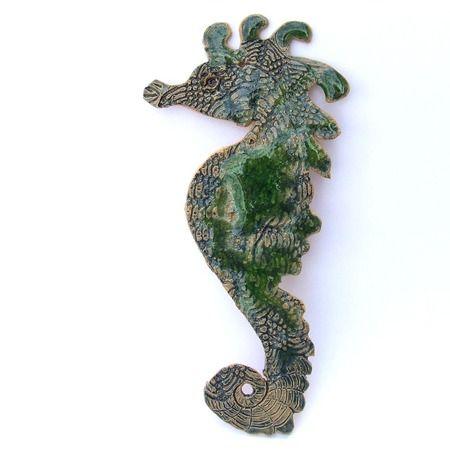 Obrazek konik morski - Szmaragd