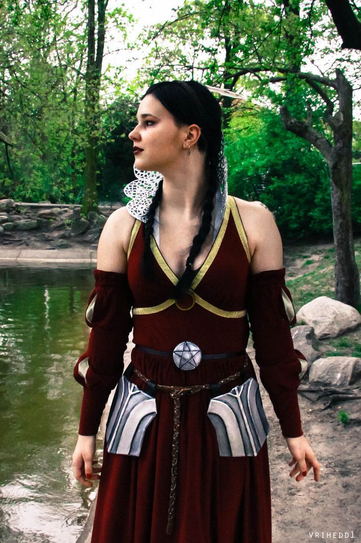 My gf's cosplay of Philippa Eilhart #TheWitcher3 #PS4 #WILDHUNT #PS4share #games #gaming #TheWitcher #TheWitcher3WildHunt