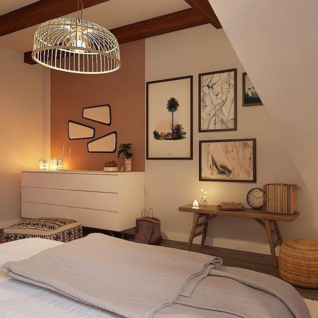 Rhinov sur instagram des couleurs chaudes pour une - Couleur chaude pour une chambre ...