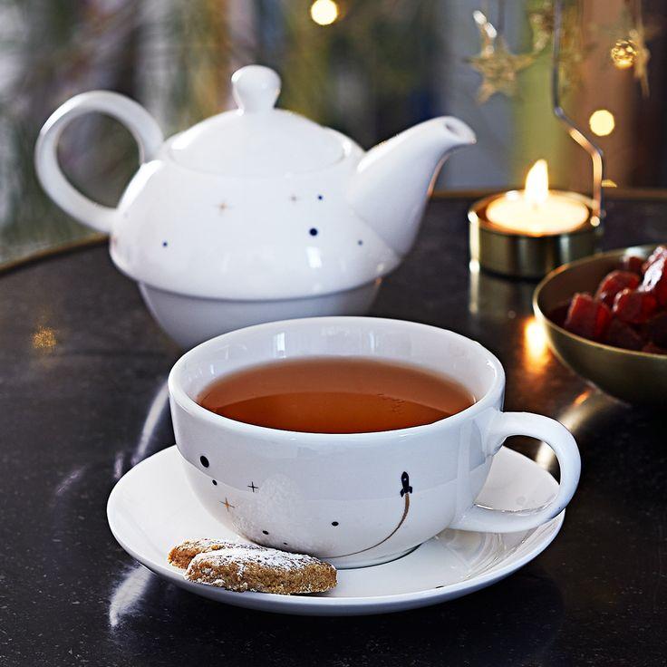 Théière solo cosmique - Pour une savoureuse pause thé - 17 €