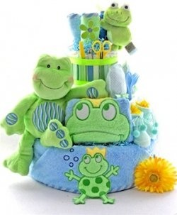 One of the hottest trends in baby showers is a frog theme. And why not, your guests will have a hoppin' good time when they see all these toadily..