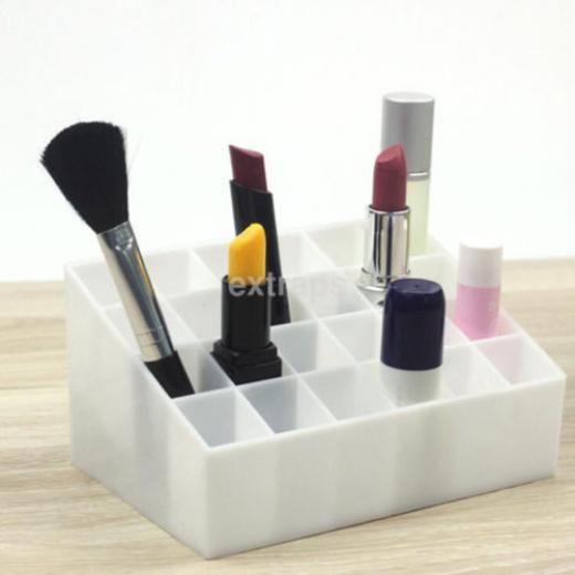1pc 24 Grids Storage Case Eyebrow Pencil Lipstick Display Stand Rack Holder Ca - Sans Marque/générique