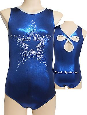 Size 6,7,8,9,10,12  Leotard/Rhinestones - Gymnastic, Dance, Leotard