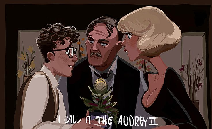 Little Shop of Horrors - Seymour, Mr. Mushnik, Audrey