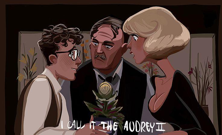 Little Shop of Horrors - Seymour, Mr. Mushnik, Audrey