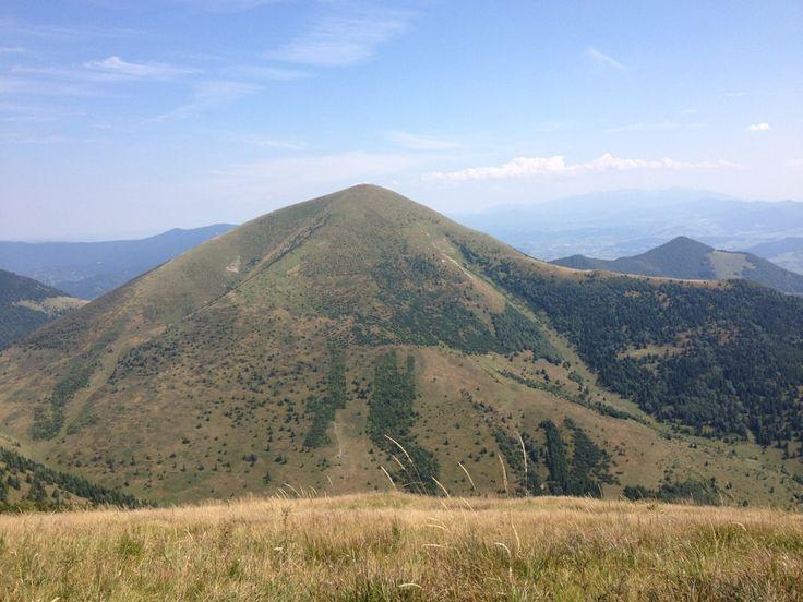 Steny, severný vrchol