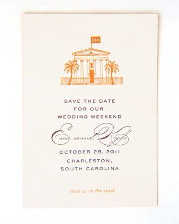 Wedding Ideas: charleston-save-the-date