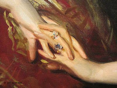 Joe Winkler - Artist / Designer: John Singer Sargent Painting at National Portrait Gallery in Washington