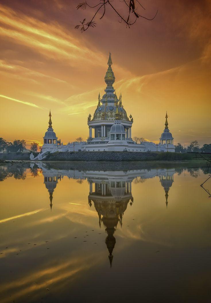 Temple Tung's set,Khon kaen,Thailand