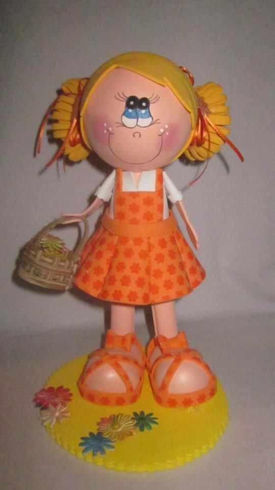 This polymer clay creation reminds me of my granddaughter Kalli..! I will be creating this one for sure!