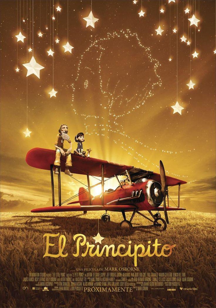 """Trailer """"El Principito"""";, de Mark Osborne #cine #movies #cinema #peliculas #cinemusicmexico #LepetitPrince"""