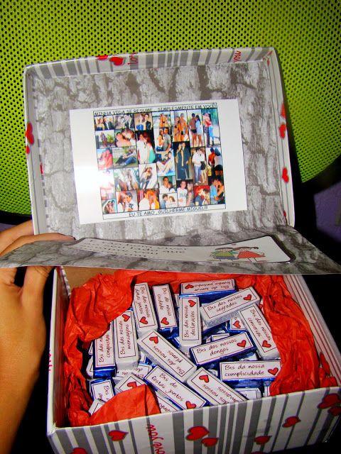 Nanda Ensina: Presentes Criativos para o Dia dos Namorados bis chocolate