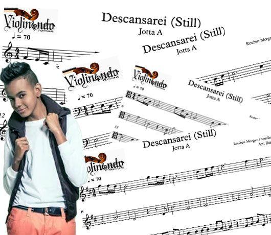 Baixe a partitura da música Descansarei na interpretada por Jotta A. Partituras gratuitas para todos os instrumentos. Incluindo instrumentos em Sib e Mib.