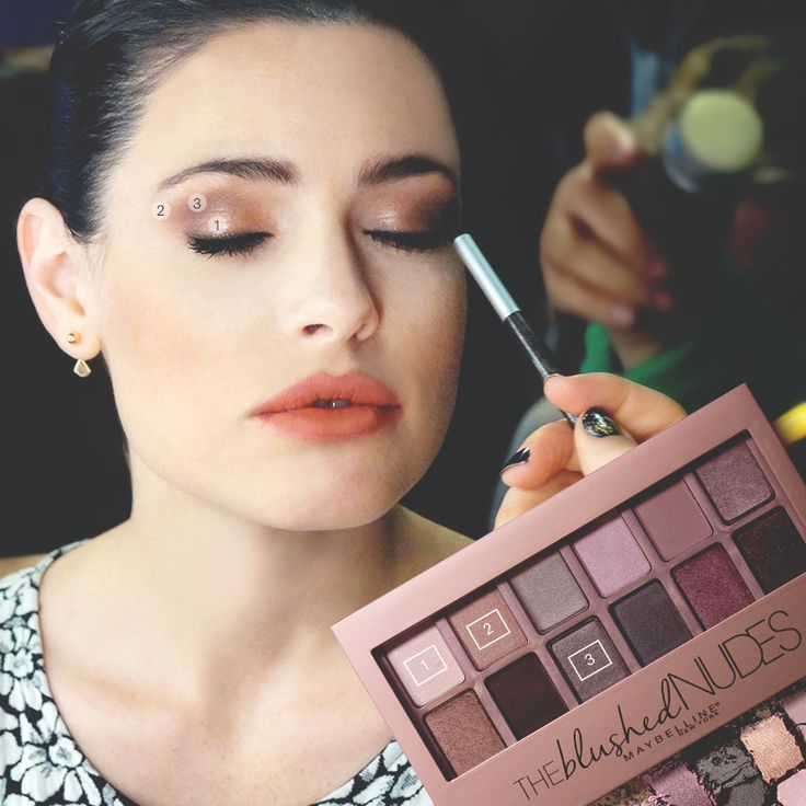 All talk and no action is no fun. #DareToGoNude with more looks like Lily's from this episode of #VanitySeries using Maybelline The Blushed Nudes eyeshadow palette..