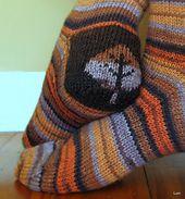 Ravelry: Double Heel Socks pattern by Susan Luni