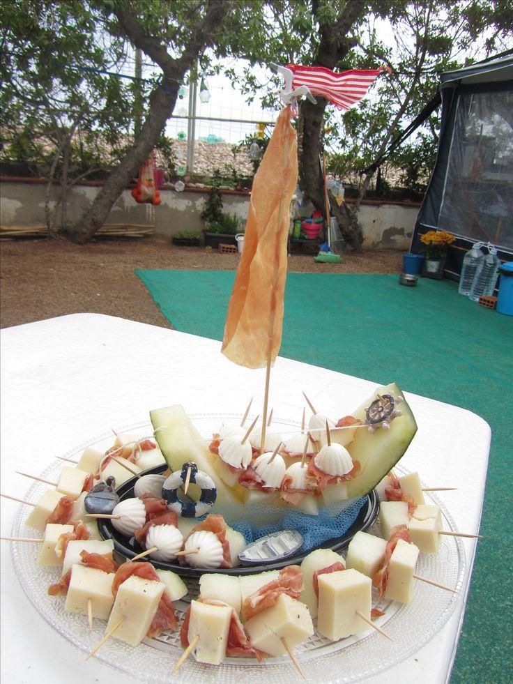 boot van watermeloen Crea van Marjo Viva La Vida
