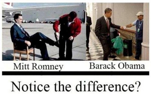Ez lenne a különbség Romney és Obama között?: Difference, Mitt Romney, Politics, Stuff, U.S. Presidents, Funny, Pictures, Photo, Obama