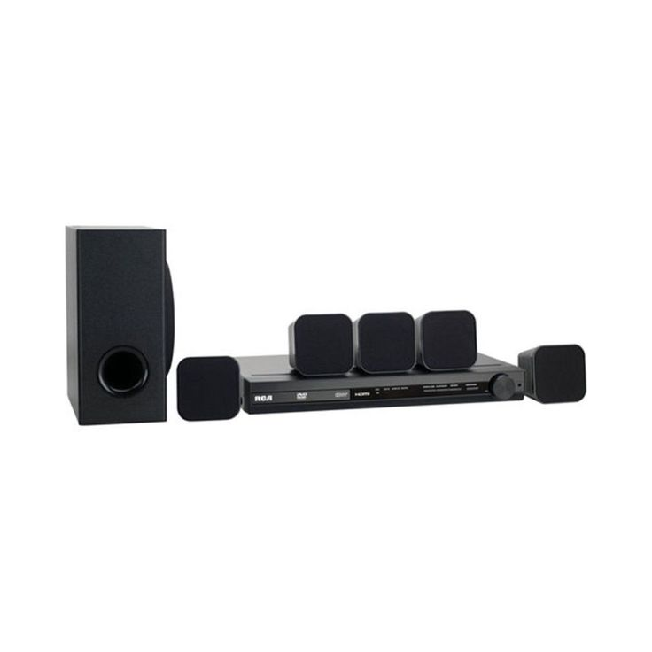 RCA 100-watt Refurbished Home Theater System With DVD Player