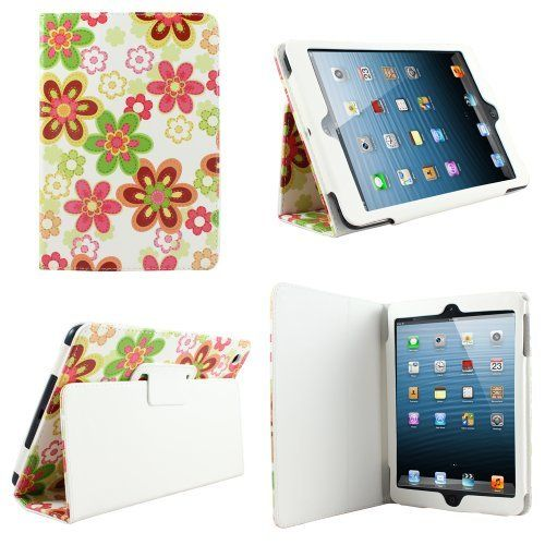 CaseGuru Sparkling Summer Flower Stand Case Cover for iPad Mini with Sleep Sensor and Integrated Flip Stand Function by CaseGuru, http://www.amazon.co.uk/dp/B00AWLA7AU/ref=cm_sw_r_pi_dp_9O3grb18DD8N2