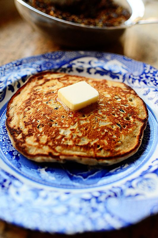 Wild Rice Pancakes... Order the Wild Rice from http://nativeharvest.com/catalog/1/wild_rice It is a true wild rice that has a totally different taste...